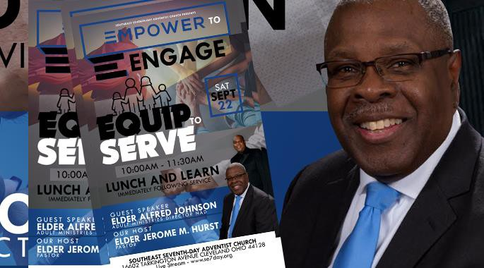 Sept 22nd - Empower to Engage, Equip to Serve