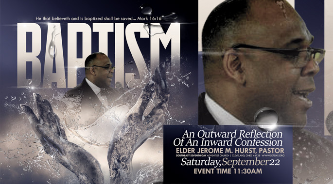 Sept 22nd - Baptism