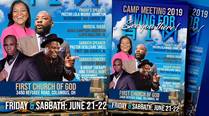 June 21-22 - AWC Camp Meeting 2019