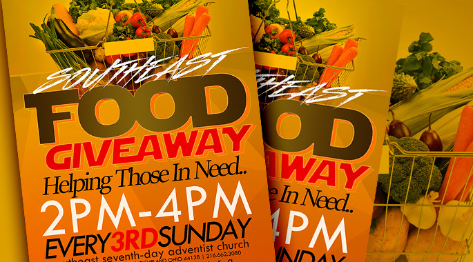 Food Giveaway - Every 3rd Sunday
