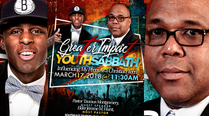 March 17th - Greater ImpacT Youth Sabbath
