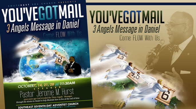 Oct 7, 14, 21, 28 - 3 Angels Message in Daniel