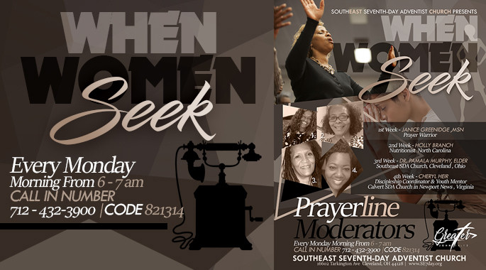 When Women Seek - Prayerline