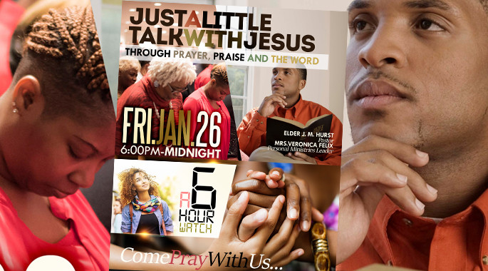 Jan 26th - Just a Little Talk With Jesus